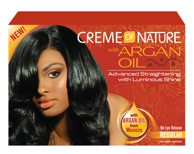 Creme Of Nature With Argan Oil No Lye Relaxer Normal